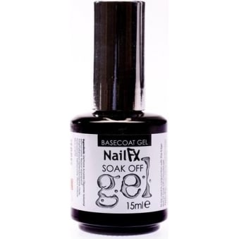 Nail FX Professional Soak Off Gel Treatment - BaseCoat 15ml