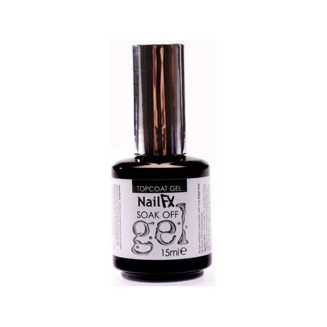 Edge Nails Nail FX Professional Soak Off Gel Treatment - TopCoat 15ml
