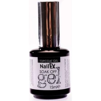 Nail FX Professional Soak Off Gel Treatment - TopCoat 15ml