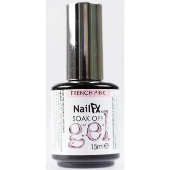 Nail FX Professional Soak Off Gloss Gel Polish - French White 15ml
