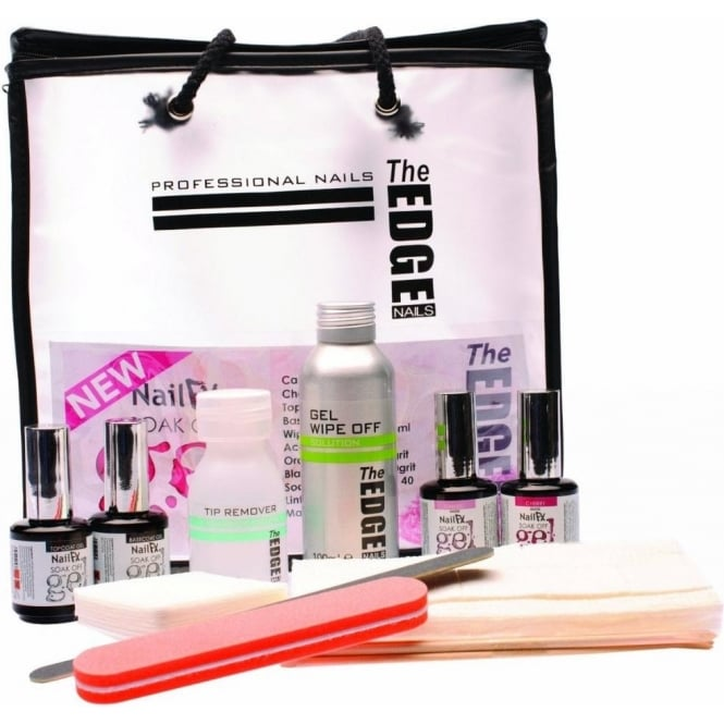 Edge Nails Nail FX Soak Off Gel Kit (Set Of 11)