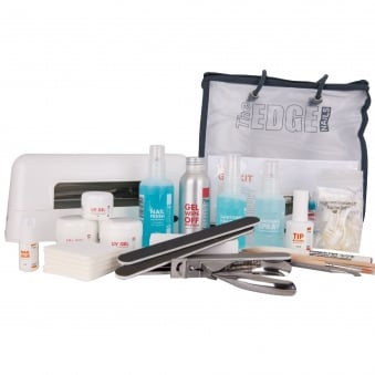 Nail UV Gel Kit With 12 Watt Lamp (25 Set Piece)