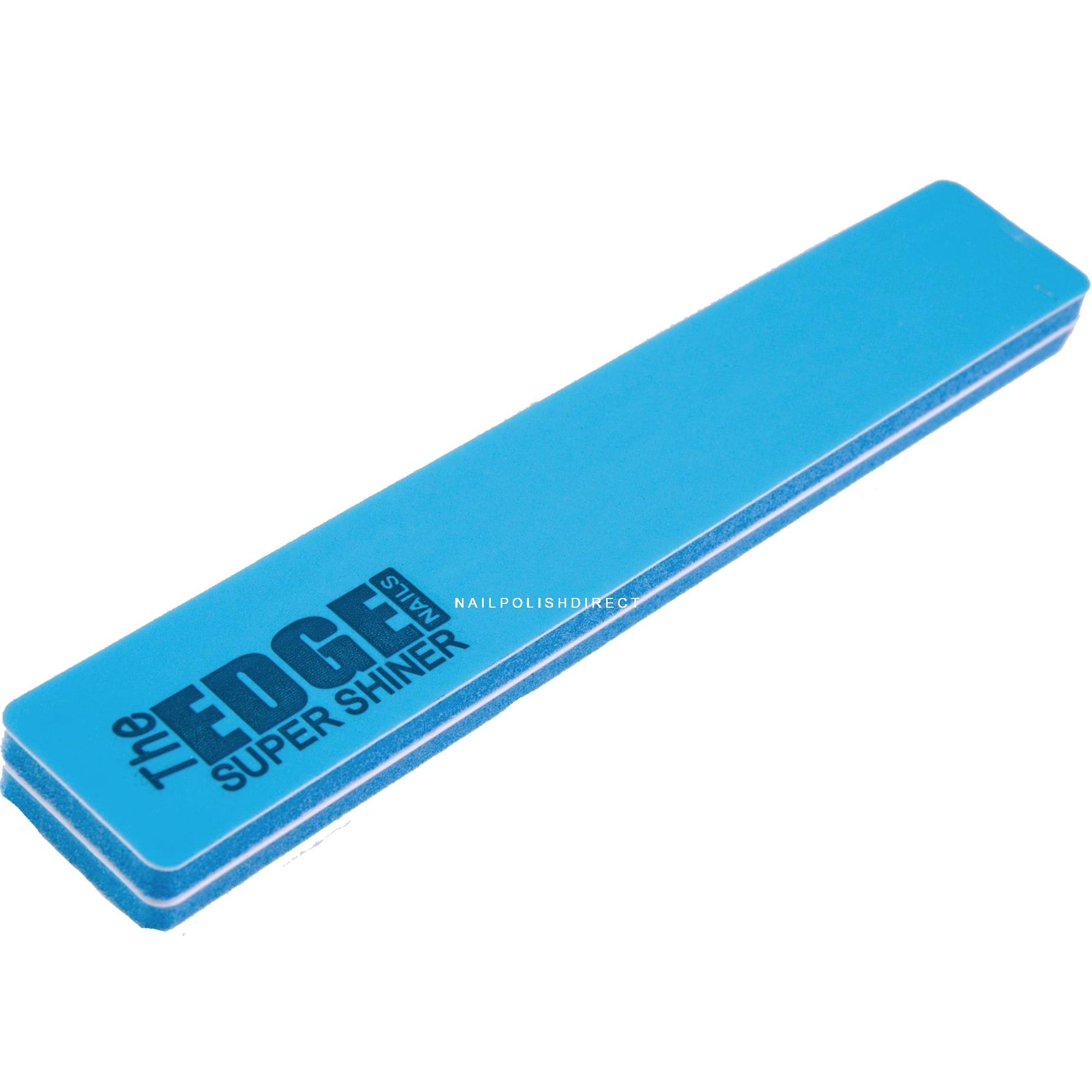 Edge Pro Nail Files & Buffers - Super Shiner - (BLUE)