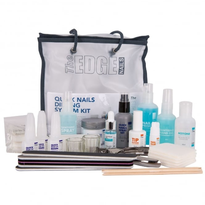 Edge Nails Quick Nails Dipping System Kit (21 Set Piece)