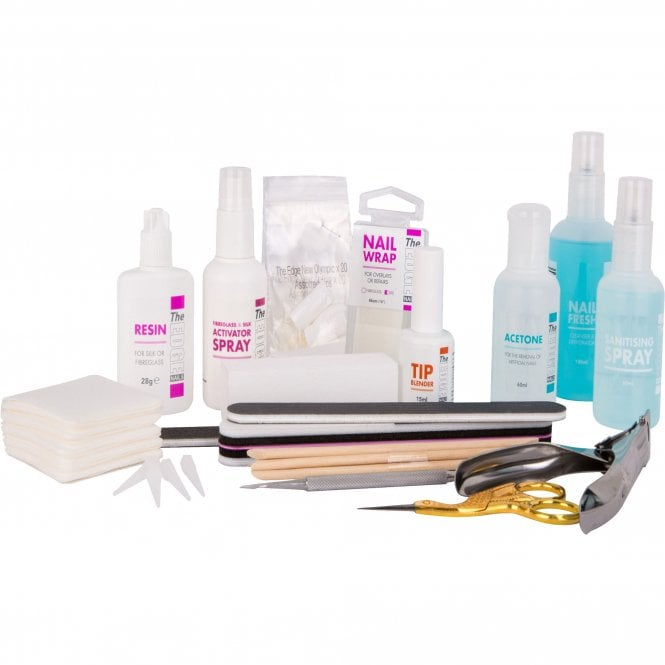 Edge Nails Silk & Fiberglass Kit (22 Set Piece)