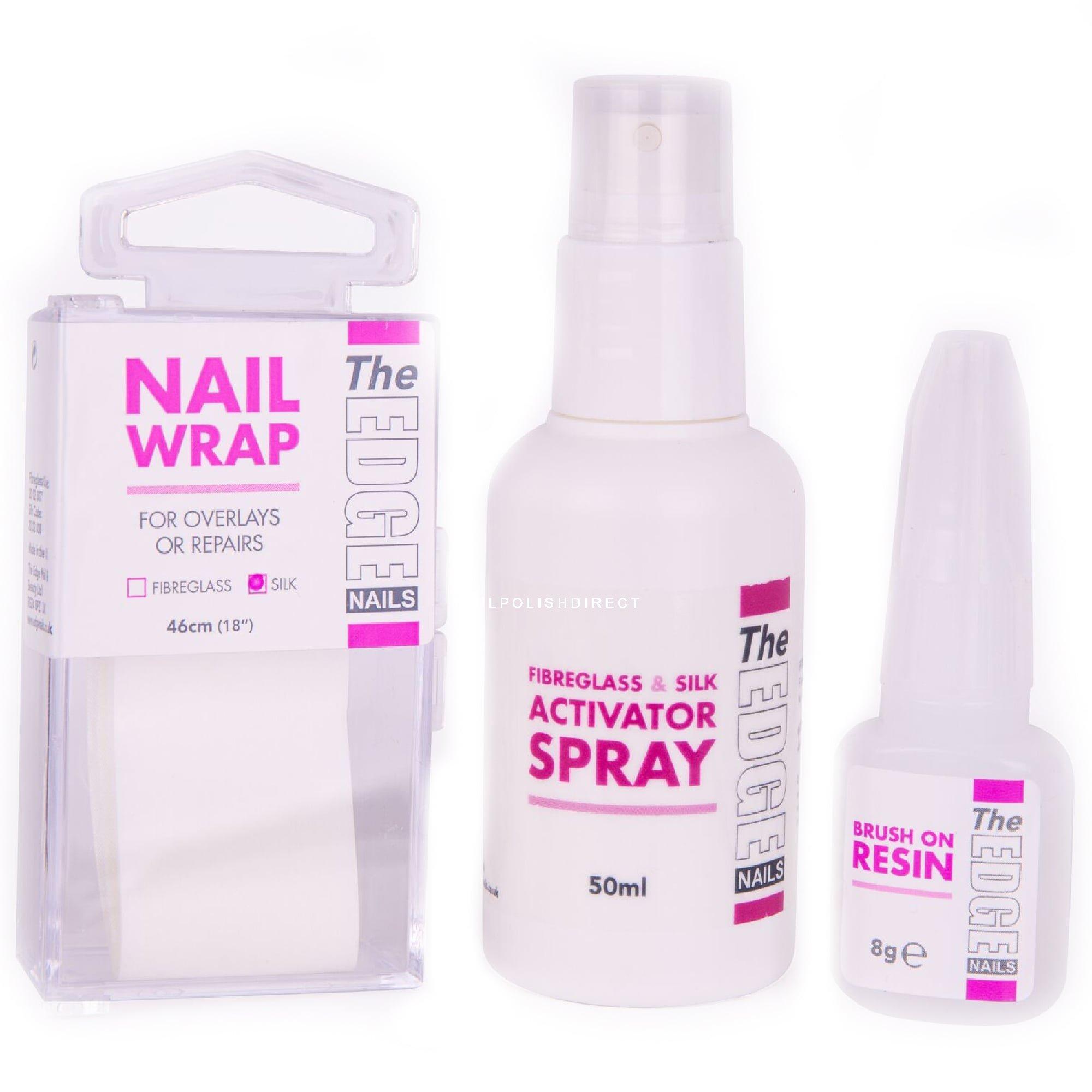Edge Nails UV Professional Silk Wrap Trial Kit at Nail Polish Direct