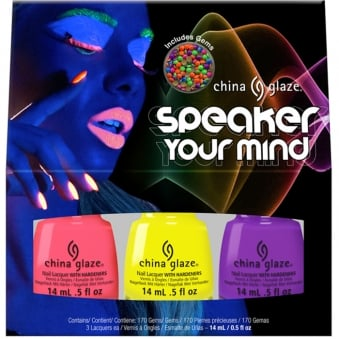 Electric Nights Nail Polish Collection 2015 - Speaker Your Mind Trio Set (x3 Piece)