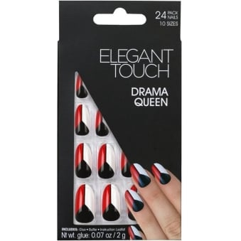 False Nails Trend Collection - Drama Queen (24 Pack)