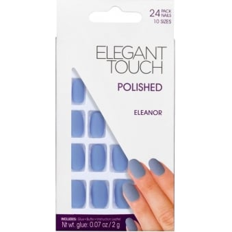 Polished Nails Hamptons Collection - Eleanor (24 Pack)