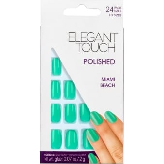 Polished Nails Ipanema Collection - Miami Beach (24 Pack)