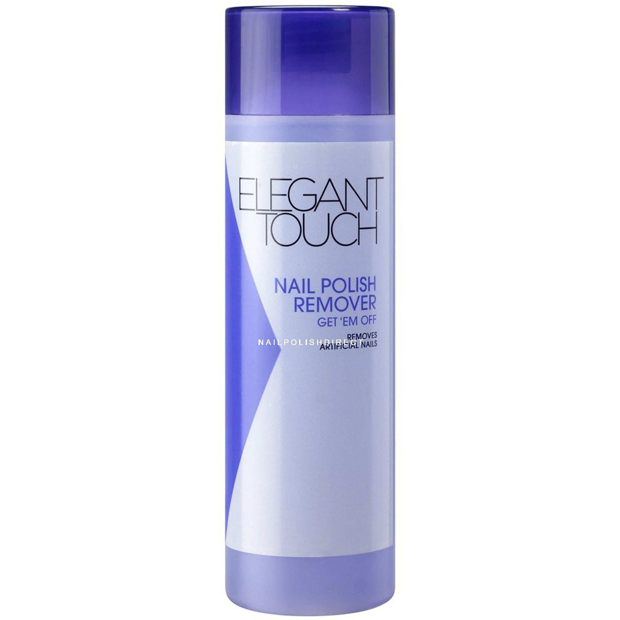 Elegant Touch Super Get \'Em Off Nail Polish Remover (For Artificial ...
