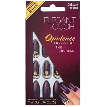 Embellished Opulence False Nails - The Duchess (24 Nails)