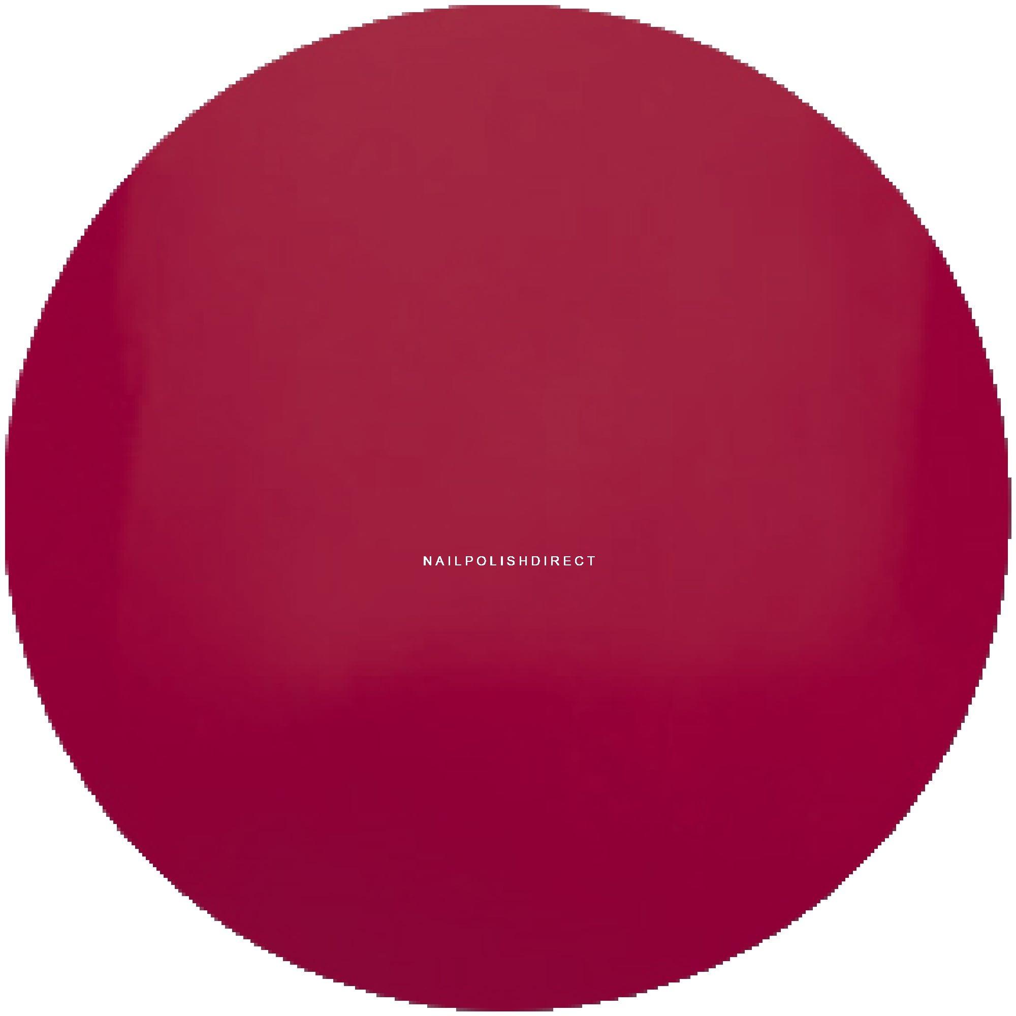 Entity Soak Off Nail Polish Gel A Very Bright Red Dress 15ml