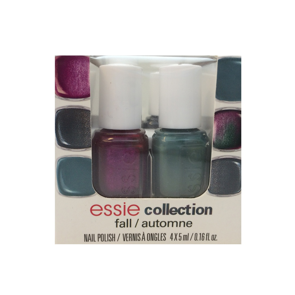 Pastel Orange Nail Polish Essie: Essie Mini 4-Piece Fall Collection Available At Nail