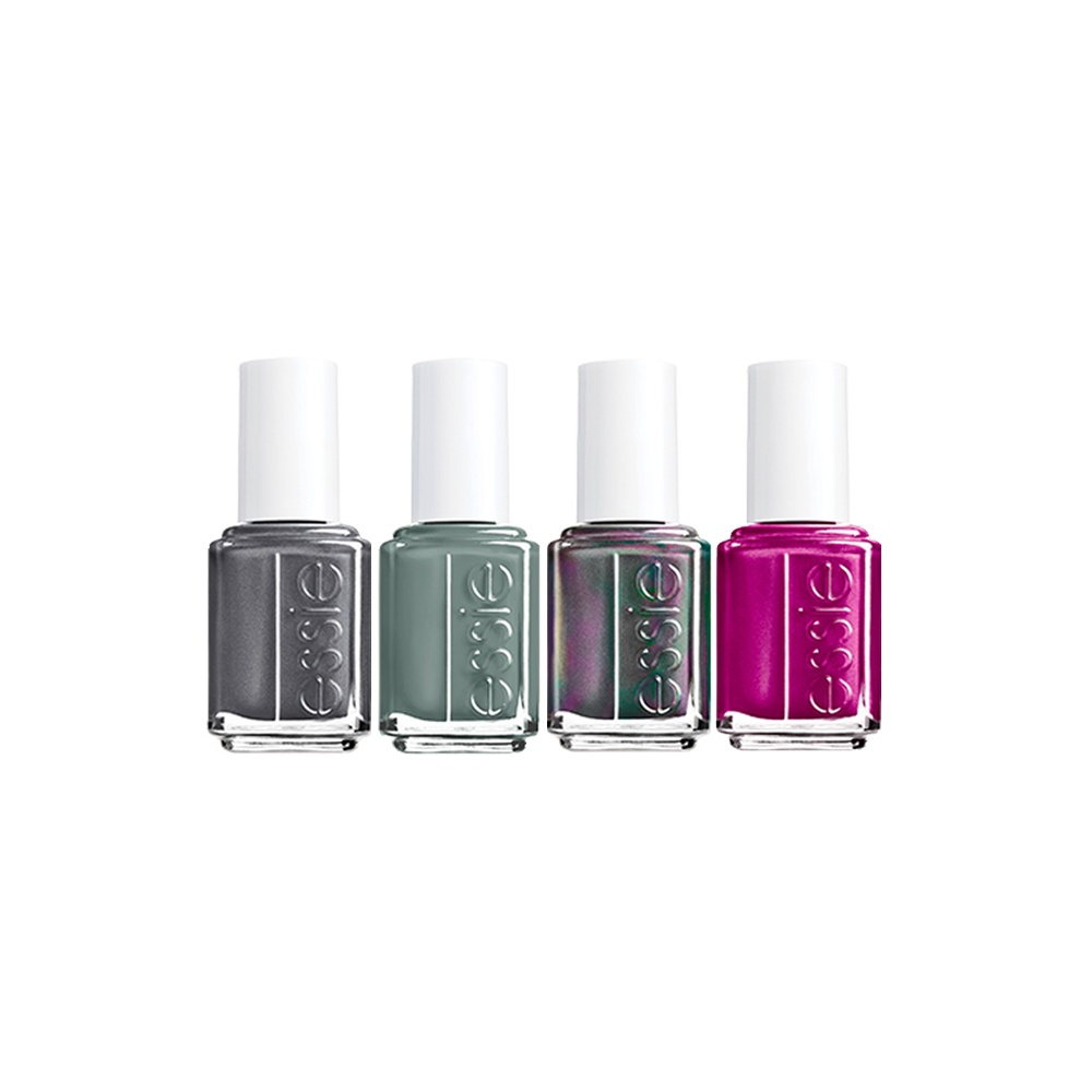 Pink Nail Polish Mini: Essie Mini 4-Piece Fall Collection Available At Nail