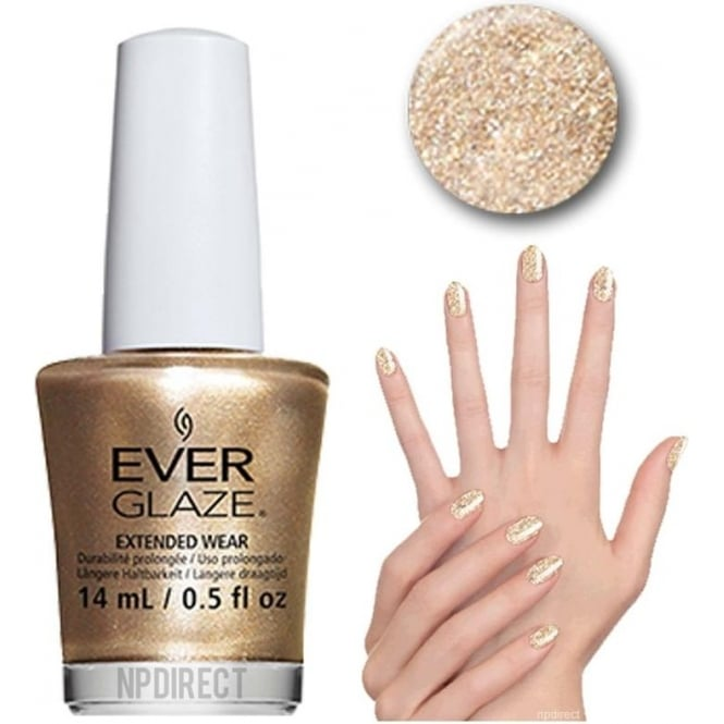 Everglaze Lacquer Extended Wear Nail Polish - A Toast To You (82329) 14mL