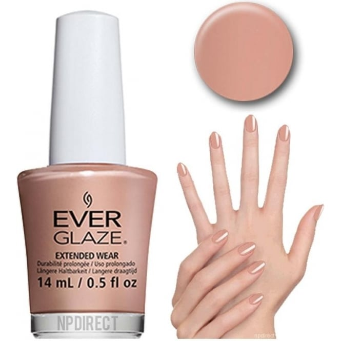 Everglaze Lacquer Extended Wear Nail Polish - Beach Beige (82322) 14mL
