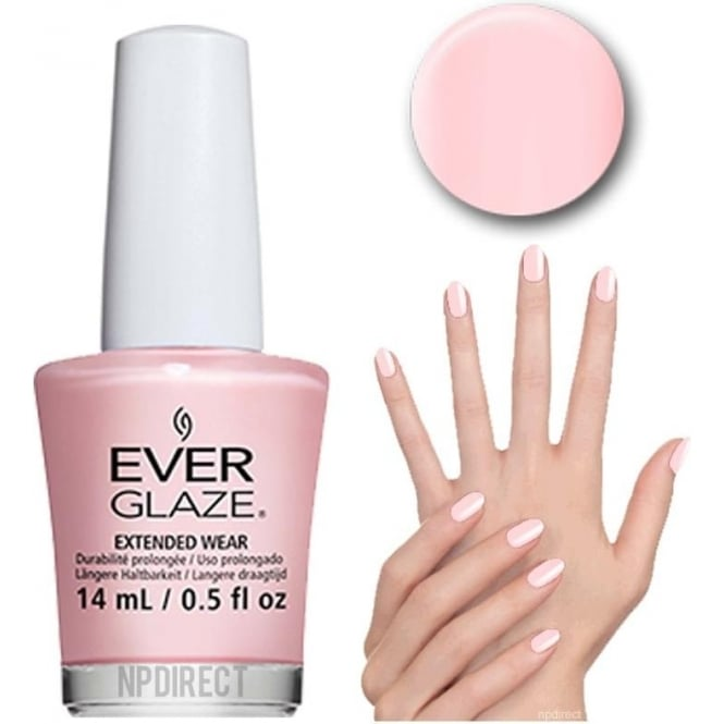 Everglaze Lacquer Extended Wear Nail Polish - Blush Much (82325) 14mL