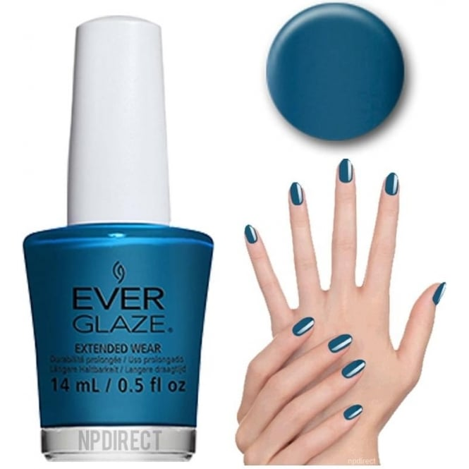 Everglaze Lacquer Extended Wear Nail Polish - Current Crush (82308) 14mL