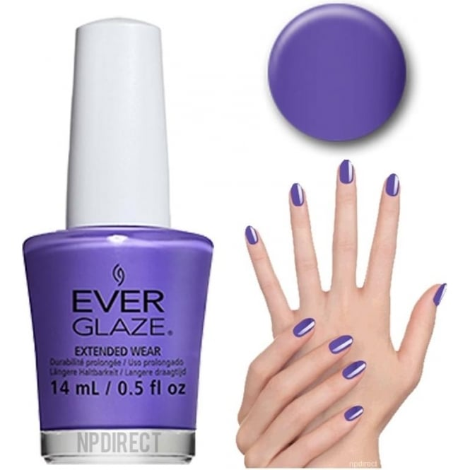 Everglaze Lacquer Extended Wear Nail Polish - Don't Grape About It (82306) 14mL
