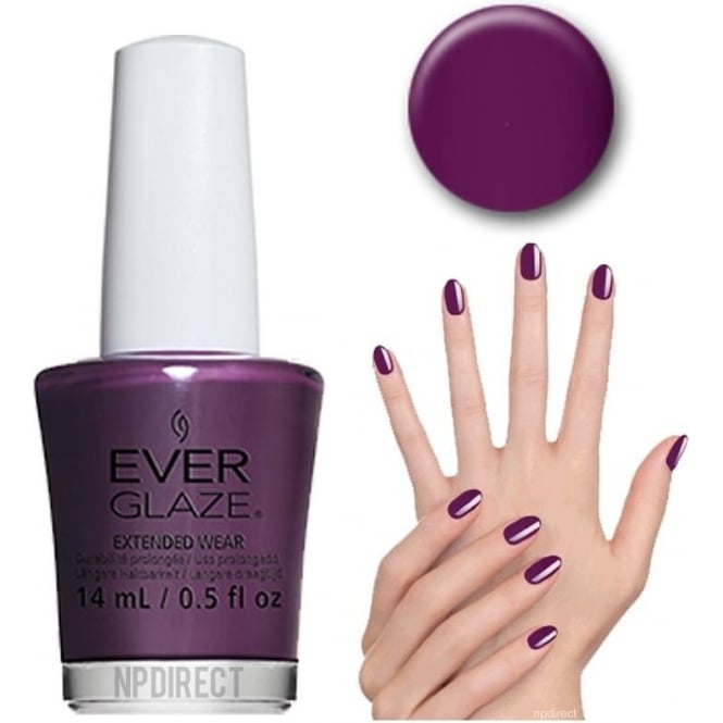 Everglaze Lacquer Extended Wear Nail Polish - Fig-ure It Out (82346) 14mL