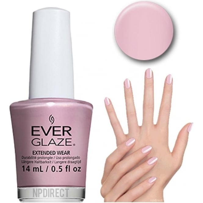 Everglaze Lacquer Extended Wear Nail Polish - Flash Mauve (82324) 14mL