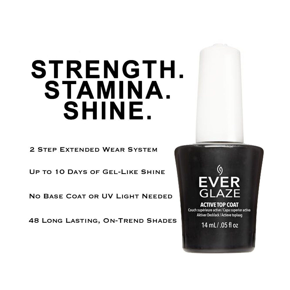 EverGlaze Nail Lacquer Floral Escent available at Nail Polish Direct