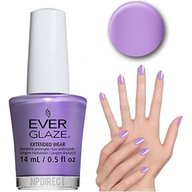 Everglaze Lacquer Extended Wear Nail Polish - I Lilac It (82335) 14mL