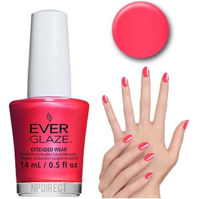 Everglaze Lacquer Extended Wear Nail Polish - I Wanna Be Your Lava (82341) 14mL