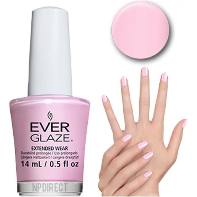 Everglaze Lacquer Extended Wear Nail Polish - Lil Bow-tique (82323) 14mL