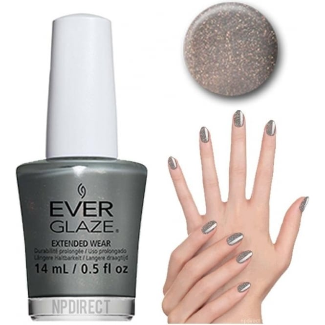 Everglaze Lacquer Extended Wear Nail Polish - Make the Moss of it (82331) 14mL