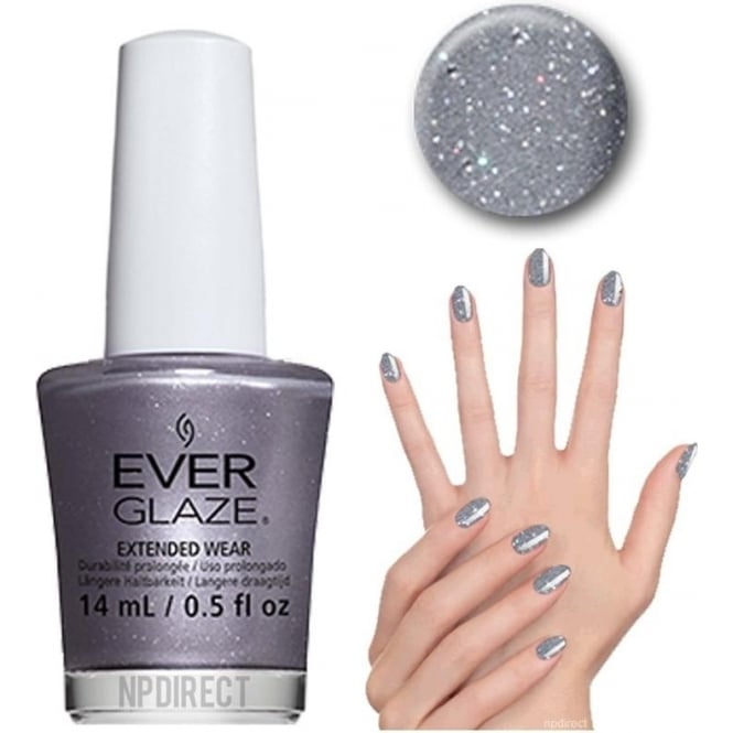 Everglaze Lacquer Extended Wear Nail Polish - NY Slate of Mind (82330) 14mL