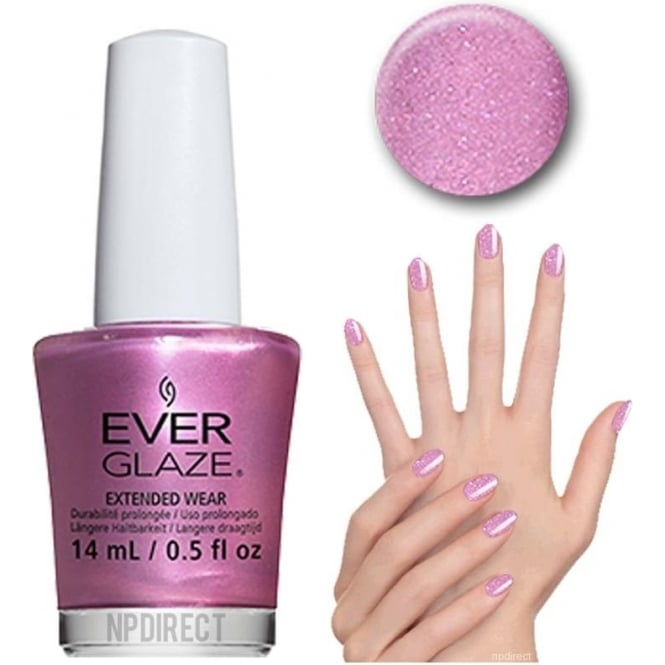 Everglaze Lacquer Extended Wear Nail Polish - Optimal Opal (82338) 14mL