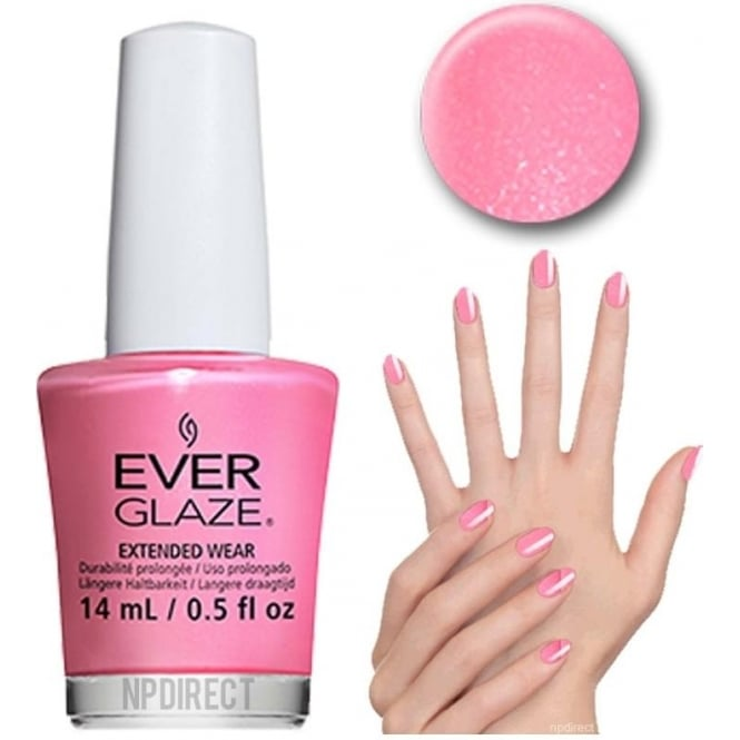 Everglaze Lacquer Extended Wear Nail Polish - Paint My Piggies Pink (82301) 14mL
