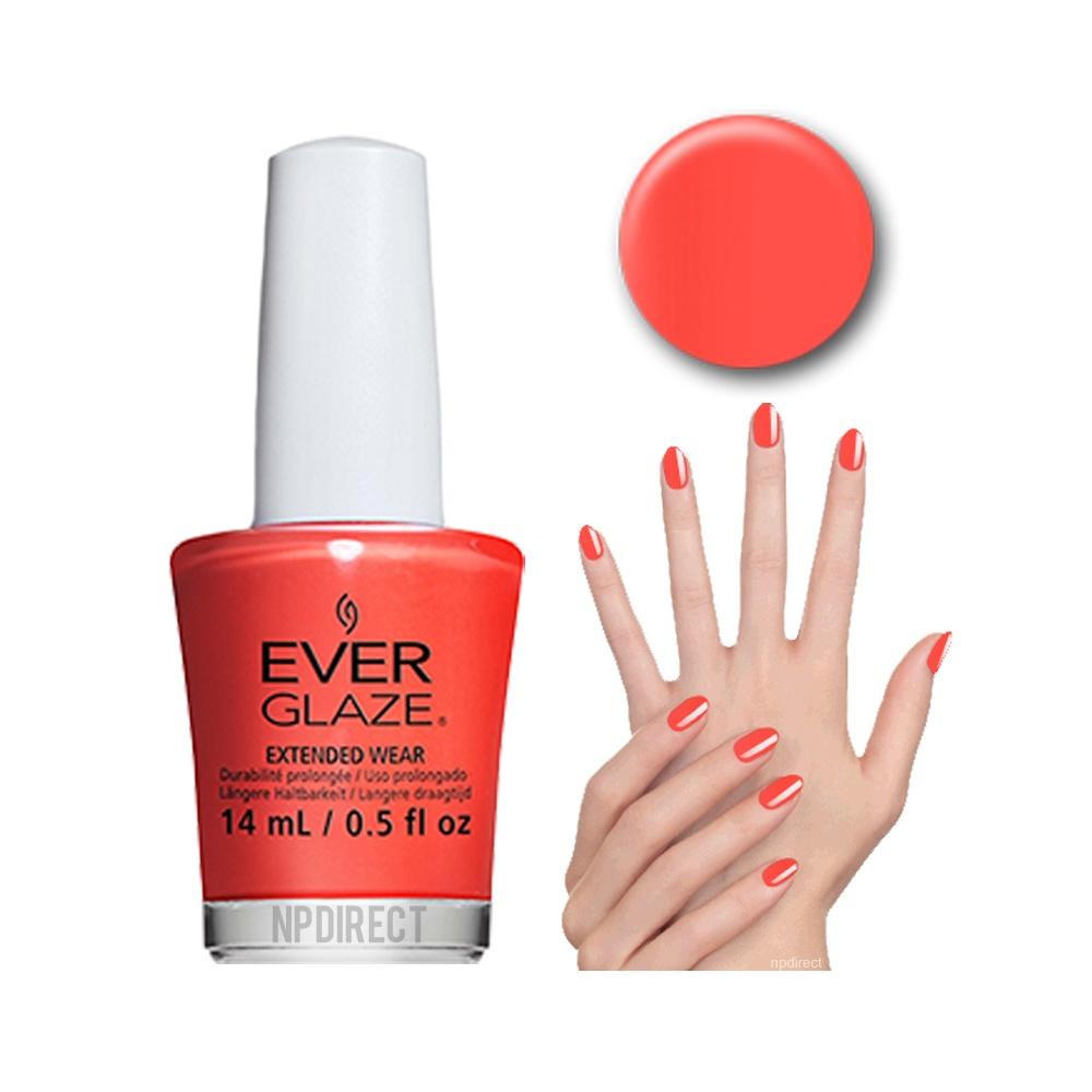 Black Poppy Nail Polish: EverGlaze Nail Lacquer Pretty Poppy Available At Nail