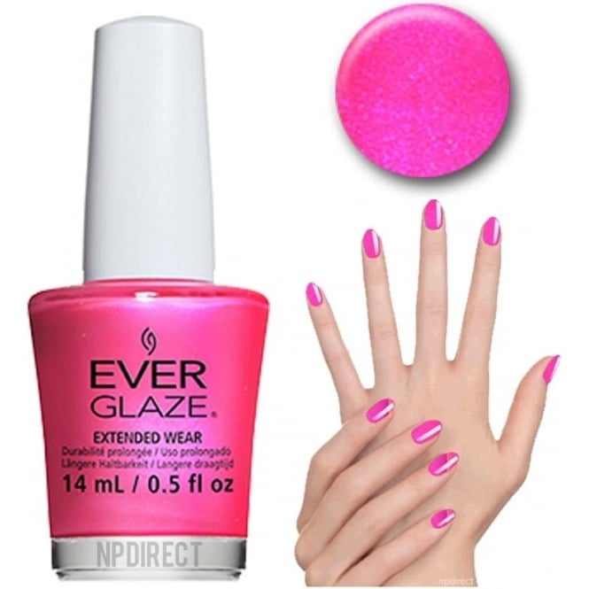 Everglaze Lacquer Extended Wear Nail Polish - Rethink Pink (82302) 14mL