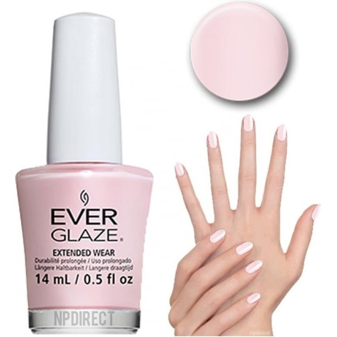 Everglaze Lacquer Extended Wear Nail Polish - Rosewater (82327) 14mL