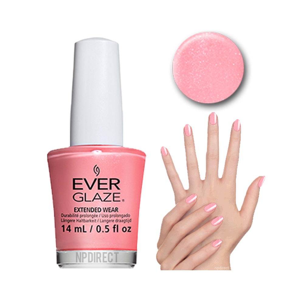 EverGlaze Nail Lacquer What\'s The Coral-ation? at Nail Polish Direct
