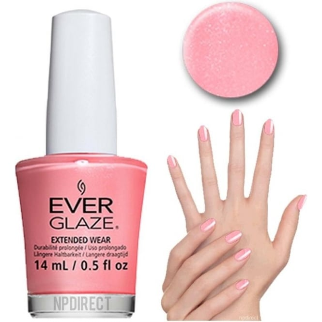 Everglaze Lacquer Extended Wear Nail Polish - What's The Coral-ation? (82314) 14mL