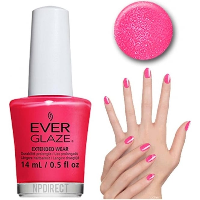 Everglaze Lacquer Extended Wear Nail Polish - Will You Be Mine (82303) 14mL