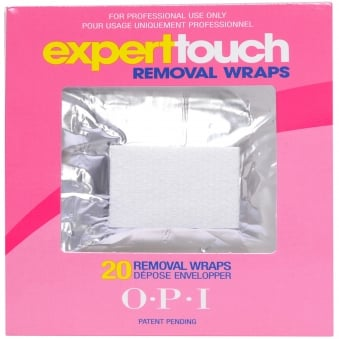 Expert Touch Removal Wraps - (20 X Wraps)