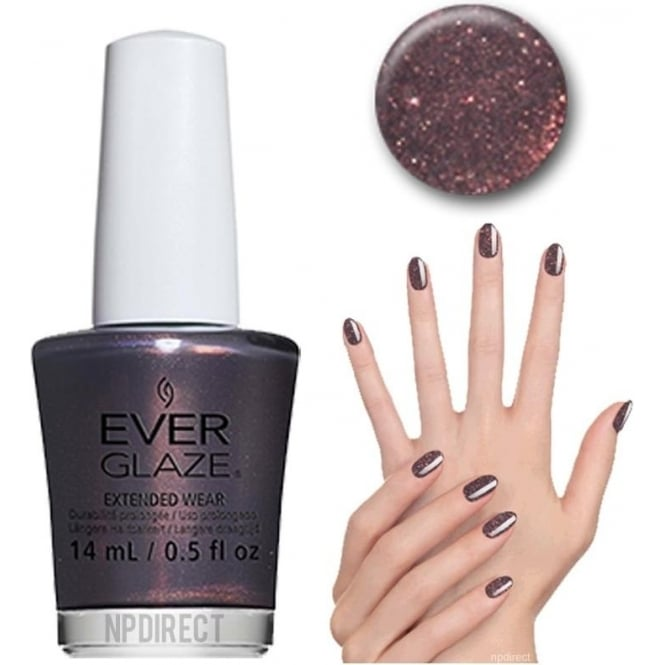 Everglaze Lacquer Extended Wear Nail Polish - French Press (82348) 14mL