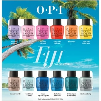 Fiji Nail Polish Collection 2017 - 12 Piece Lacquer Set (12 x 3.75ml)