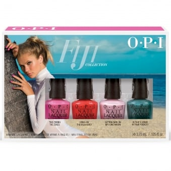 Fiji Nail Polish Collection 2017 - Mini 4-pack (DC F57)
