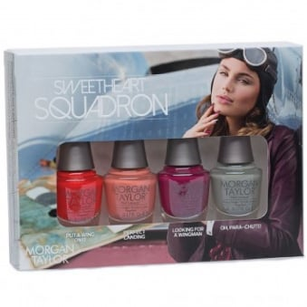Flying With My Crew 2016 Mini Nail Polish Collection - Sweetheart Squadron (4 x 5ml)
