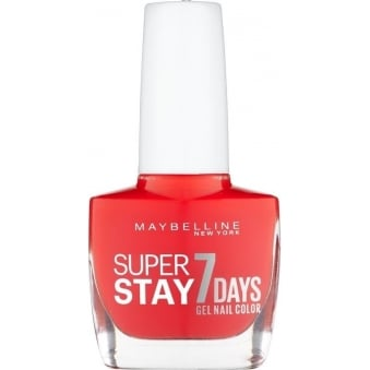 Forever Strong Super Stay Gel Nail 7 Day Wear - Blood Orange 10ml (493)
