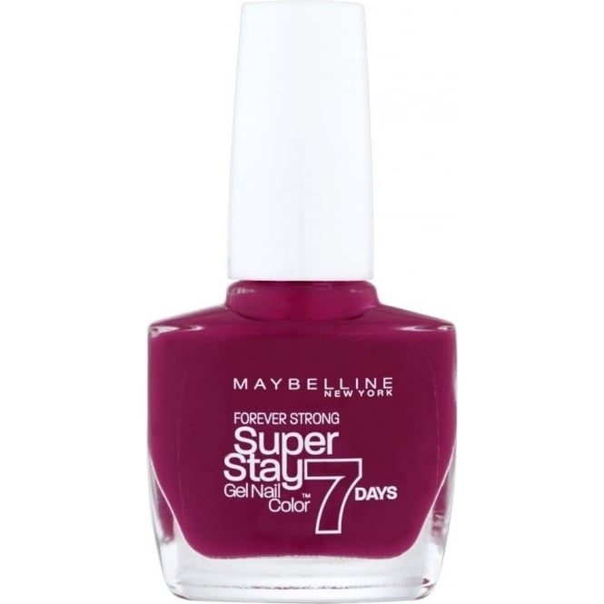 Maybelline Forever Strong Super Stay Gel Nail 7 Day Wear - Divine Wine 10ml (265)