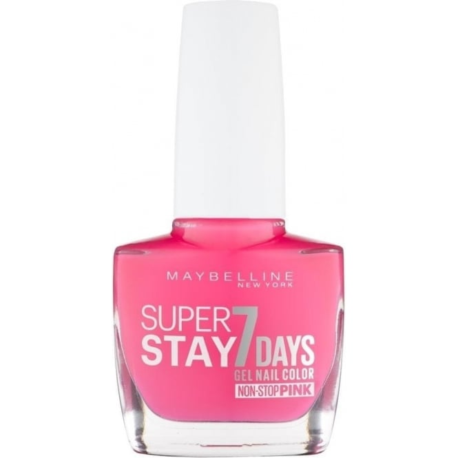 Maybelline Forever Strong Super Stay Gel Nail 7 Day Wear - Magenta Surge 10ml (160)
