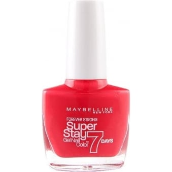 Forever Strong Super Stay Gel Nail 7 Day Wear - Red Hot Getaway 10ml (872)
