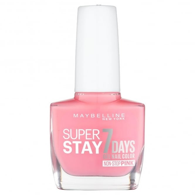 Maybelline Forever Strong Super Stay Gel Nail 7 Day Wear - Rose Rapture 10ml (140)